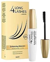 Düfte, Parfümerie und Kosmetik Mascara für lange, geschwungene & voluminöse Wimpern mit Biotin - Long 4 Lashes