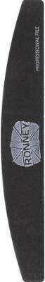 Nagelfeile 100/180 schwarz RN 00268 - Ronney Professional — Bild N1