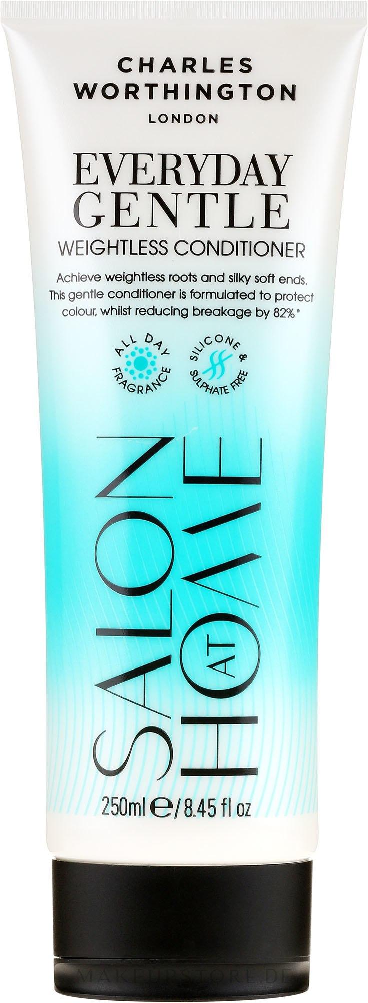 Pflegende Haarspülung für täglichen Gebrauch - Charles Worthington Everyday Gentle Weightless Conditioner — Bild 250 ml