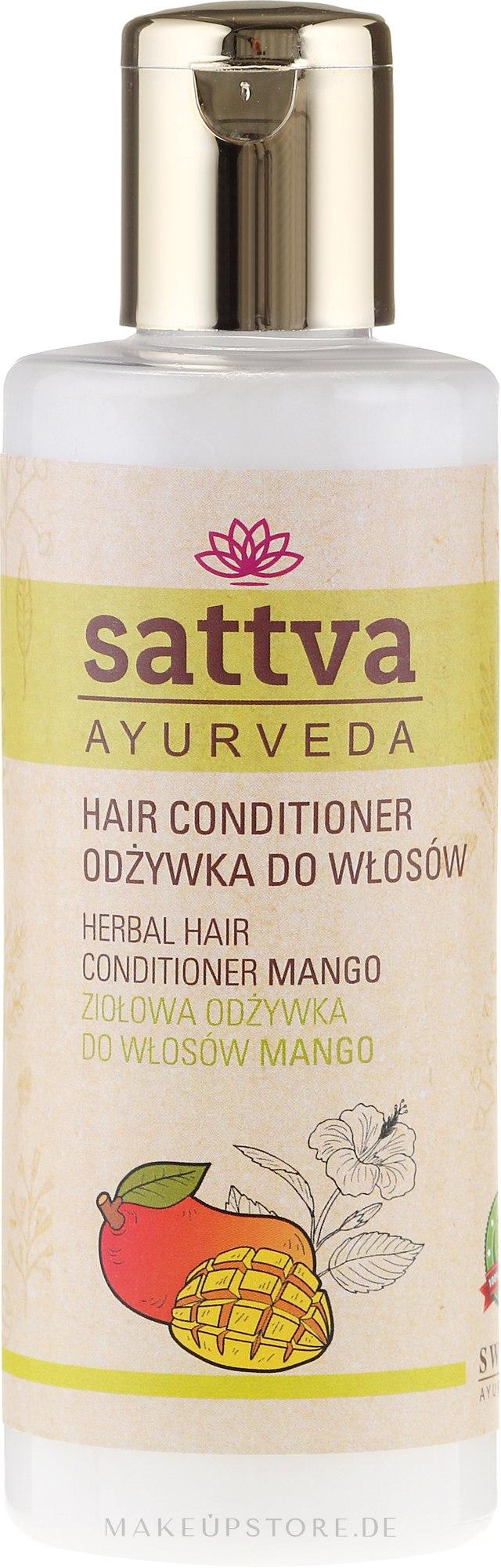 Haarspülung - Sattva Conditioner Mango — Bild 210 ml