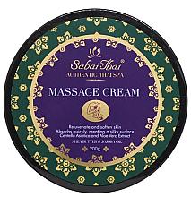 Düfte, Parfümerie und Kosmetik Massagecreme für den Körper mit Reiskleieöl und Aloe Vera - Sabai Thai Jasmine Massage Cream