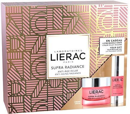 Gesichtspflegeset - Lierac Supra Radiance (Gesichtscreme 50ml + Augenserum 15ml) — Bild N1
