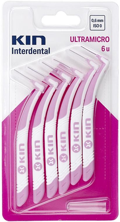 Interdentalzahnbürsten 0,6 mm - Kin Ultramicro ISO 0