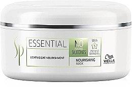 Düfte, Parfümerie und Kosmetik Feuchtigkeitsspendende Haarmaske für leichte Kämmbarkeit - Wella SP Essential Nourishing Mask