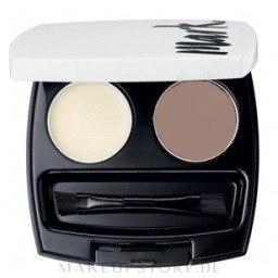 Augenbrauen Lidschatten - Avon Mark Eyebrow Kit — Bild Ash Blonde