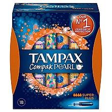 Düfte, Parfümerie und Kosmetik Tampons mit Applikator 18 St. - Tampax Pearl Compak Super Plus