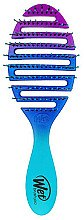 Düfte, Parfümerie und Kosmetik Haarbürste Ombré-blau - Wet Brush Pro Flex Dry Ombre Blue