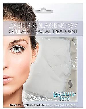 Gesichtsmaske mit Kollagen zur Stärkung der Kapillaren - Beauty Face Collagen Capillaries Strengthening Home Spa Treatment Mask — Bild N1