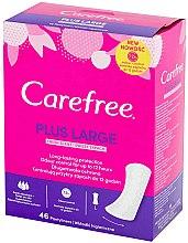 Düfte, Parfümerie und Kosmetik Slipeinlagen mit Frischeduft für extra Schutz 46 St. - Carefree Plus Large Fresh Scent