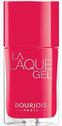 Gel Nagellack - Bourjois La Laque Gel Nail Polish — Bild 04 - Flambant Rose