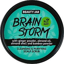 Düfte, Parfümerie und Kosmetik Reinigungspeeling für die Kopfhaut mit Ingwerpulver und Mandelöl - Beauty Jar Cleansing & Purifying Scalp Scrub