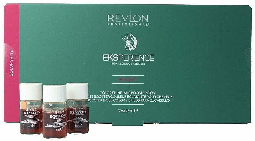 Booster-Ampullen für mehr Farbglanz - Revlon Eksperience Boost Color Shine Booster — Bild N1