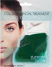 Kollagenmaske mit Gurkenextrakt - Beauty Face Cucumber Extract Collagen Mask — Bild N1