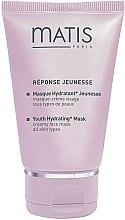 Düfte, Parfümerie und Kosmetik Feuchtigkeitsspendende Creme-Maske - Matis Reponse Jeunesse Youth Hydrating Mask