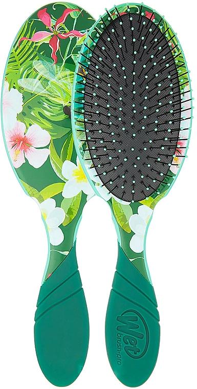 Haarbürste - Wet Brush Pro Detangler Neon Floral Tropics — Bild N1