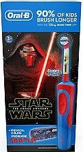 Düfte, Parfümerie und Kosmetik Elektrische Zahnbürste Star Wars für Kinder ab 3 Jahren + Geschenk Federtasche - Oral-B Kids Star Wars