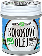 Düfte, Parfümerie und Kosmetik Kaltgepresstes Kokosnussöl für den Körper ohne Geruch - Purity Vision Bio Coconut Oil
