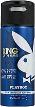 Düfte, Parfümerie und Kosmetik Playboy King Of The Game - Deospray