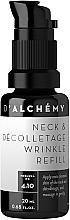 Düfte, Parfümerie und Kosmetik Anti-Falten Fluid für Hals und Dekolleté - D'Alchemy Neck & Decolletage Wrinkle Refill