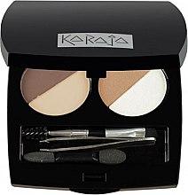 Düfte, Parfümerie und Kosmetik Lidschatten- und Augenbrauen-Palette - Karaja Eye & Brow Basic (2g)