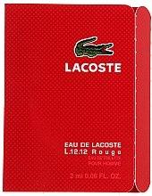 Düfte, Parfümerie und Kosmetik Lacoste Eau De L.12.12 Rouge - Eau de Toilette (Probe)