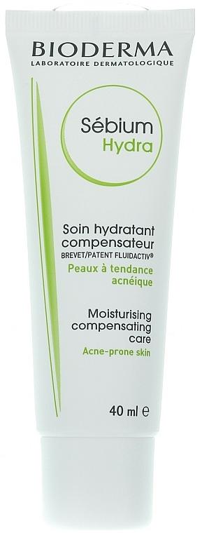 Feuchtigkeitsspendende Gesichtscreme für zu Akne neigende Haut - Bioderma Sebium Hydra Moisturising Cream — Bild N5