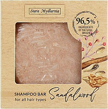 Düfte, Parfümerie und Kosmetik Festes Shampoo mit Sandelholz - Stara Mydlarnia Bodychillout Sandalwood Shampoo Bar