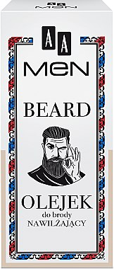 Feuchtigkeitsspendendes Bartöl - AA Cosmetics Men Beard Oil — Bild N1