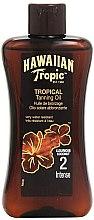 Düfte, Parfümerie und Kosmetik Bräunungsöl mit Kokosnuss SPF 2 - Hawaiian Tropic Sun Tan Oil Intense SPF 2