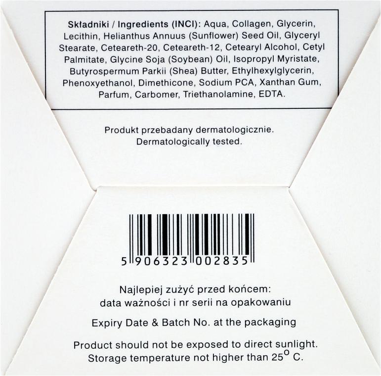 Anti-Aging Gesichtscreme mit Bio Kollagen und Sheabutter 55+ - Ava Laboratorium L'Arisse 5D Anti-Wrinkle Cream Bio Collagen + Shea Butter — Bild N3