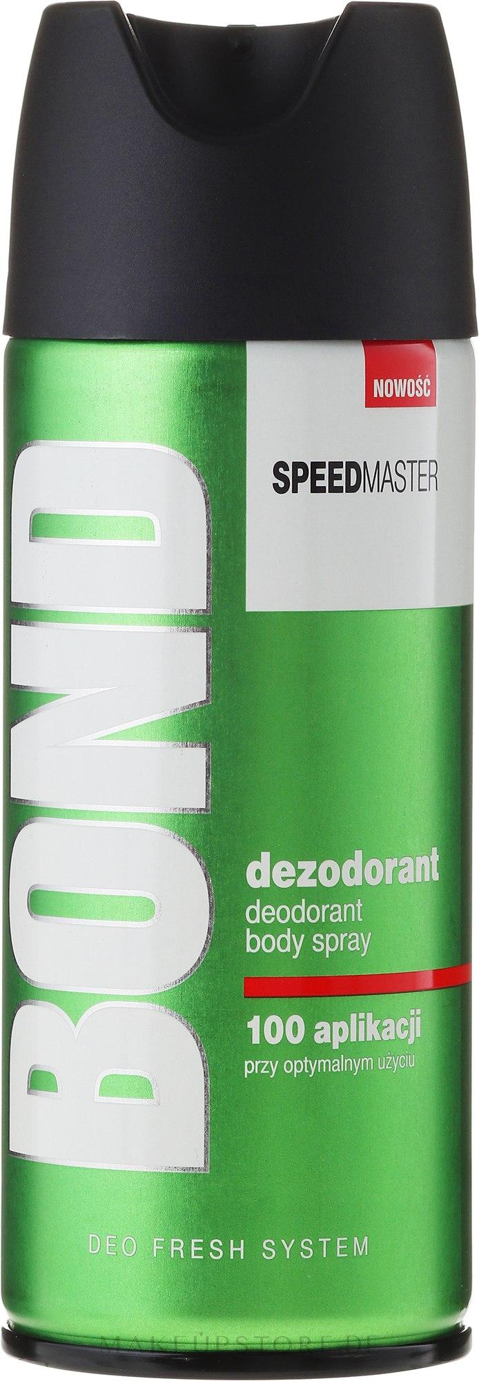 Deospray - Bond Speedmaster Deo Spray — Bild 150 ml