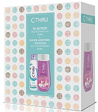Düfte, Parfümerie und Kosmetik Set - C-Thru In Action (Deodorant/150ml + Duschgel/250ml)