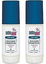 Düfte, Parfümerie und Kosmetik Deo Roll-on für empfindliche Haut 2 St. - Sebamed Balsam Deodorant Sensitive For Men