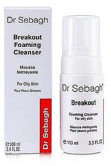 Reinigungsschaum für fettige und Akne-Haut - Dr Sebagh Breakout Foaming Cleanser For Oily & Acne Prone Skin — Bild N1