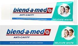 Düfte, Parfümerie und Kosmetik Zahnpasta Anti-Cavity Delicate White - Blend-a-med Anti-Cavity Delicate White