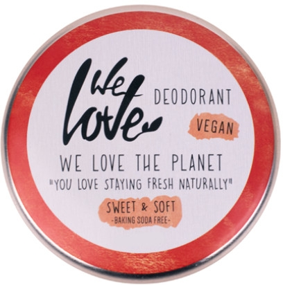 Natürliche Deo-Creme Sweet & Soft - We Love The Planet Deodorant Sweet & Soft — Bild N1