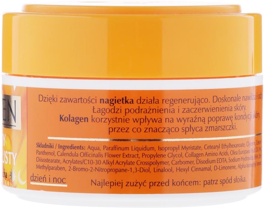 Halbfettige Gesichtscreme mit Ringelblume und Kollagen - Celia Collagen Soft Semi-Rich Face Cream — Bild N2