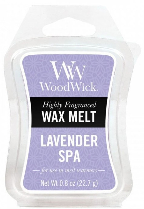 Tart-Duftwachs Lavender Spa - WoodWick Mini Wax Melt Lavender Spa Smart Wax System — Bild N1
