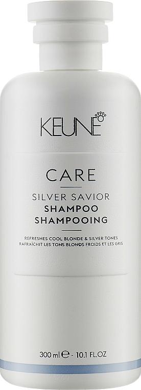 Haarshampoo Silberner Glitzer - Keune Care Silver Savior Shampoo — Bild N1