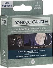 Düfte, Parfümerie und Kosmetik Auto-Lufterfrischer Midsummer's Night - Yankee Candle Car Powered Fragrance Refill Midsummer's Night