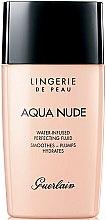 Düfte, Parfümerie und Kosmetik Leichte feuchtigkeitsspendende Foundation - Guerlain Lingerie de Peau Aqua Nude