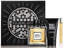 Düfte, Parfümerie und Kosmetik Guerlain L´Homme Ideal - Duftset (Eau de Toilette 100ml + Eau de Toilette 10ml + Duschgel 75ml)