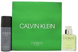 Düfte, Parfümerie und Kosmetik Calvin Klein Eternity For Men - Duftset (Eau de Toilette 100ml + Deodorant 150ml)