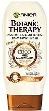 Düfte, Parfümerie und Kosmetik Nährende und aufweichende Haarspülung mit Macadamia und Kokosmilch - Garnier Botanic Therapy Coco Milk & Macadamia