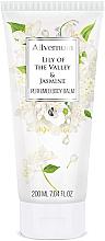 Düfte, Parfümerie und Kosmetik Luxuriöse Körperlotion mit weißen Blüten aus Maiglöckchen und Jasmin - Allverne Lily of the Valley & Jasmine