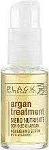 Düfte, Parfümerie und Kosmetik Pflegendes Haarserum mit Arganöl - Black Professional Line Argan Treatment Serum