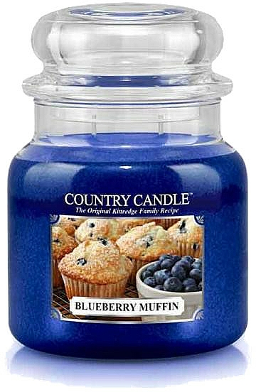 Duftkerze im Glas Blueberry Muffin - Country Candle Blueberry Muffin — Bild N1
