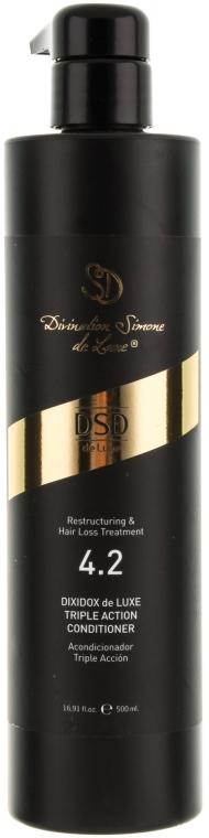 Conditioner gegen Haarausfall mit dreifacher Wirkung № 4.2 - Simone Dixidox DeLuxe Triple Action Conditioner — Bild N4