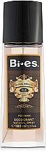 Düfte, Parfümerie und Kosmetik Bi-Es Royal Brand Gold - Parfümiertes Körperspray