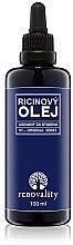 Düfte, Parfümerie und Kosmetik Regenerierendes Rizinusöl für Gesicht und Körper - Renovality Original Series Castor Oil Cold Pressed